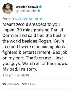 Brendan Schaub feels Fox has a sub-par MMA analyst panel for UFC Tonight -