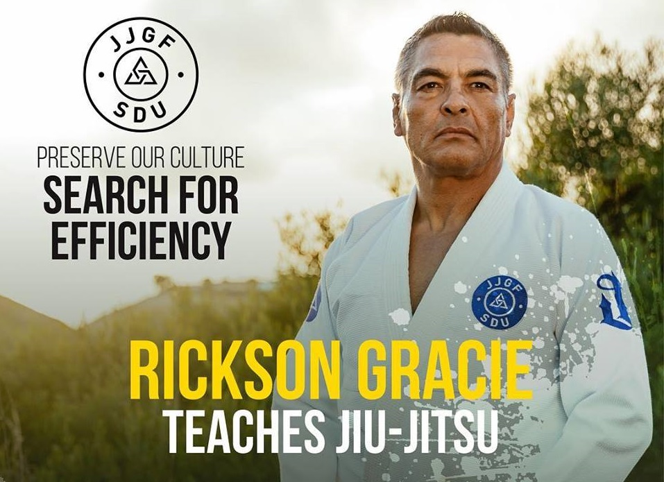 Rickson Gracie set to teach an online course for the first time - rickson gracie