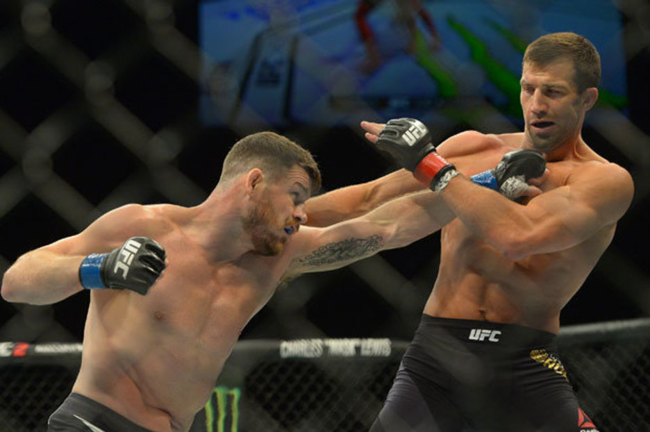 UFC: Michael Bisping says he is open to Luke Rockhold trilogy fight as his retirement bout - bisping