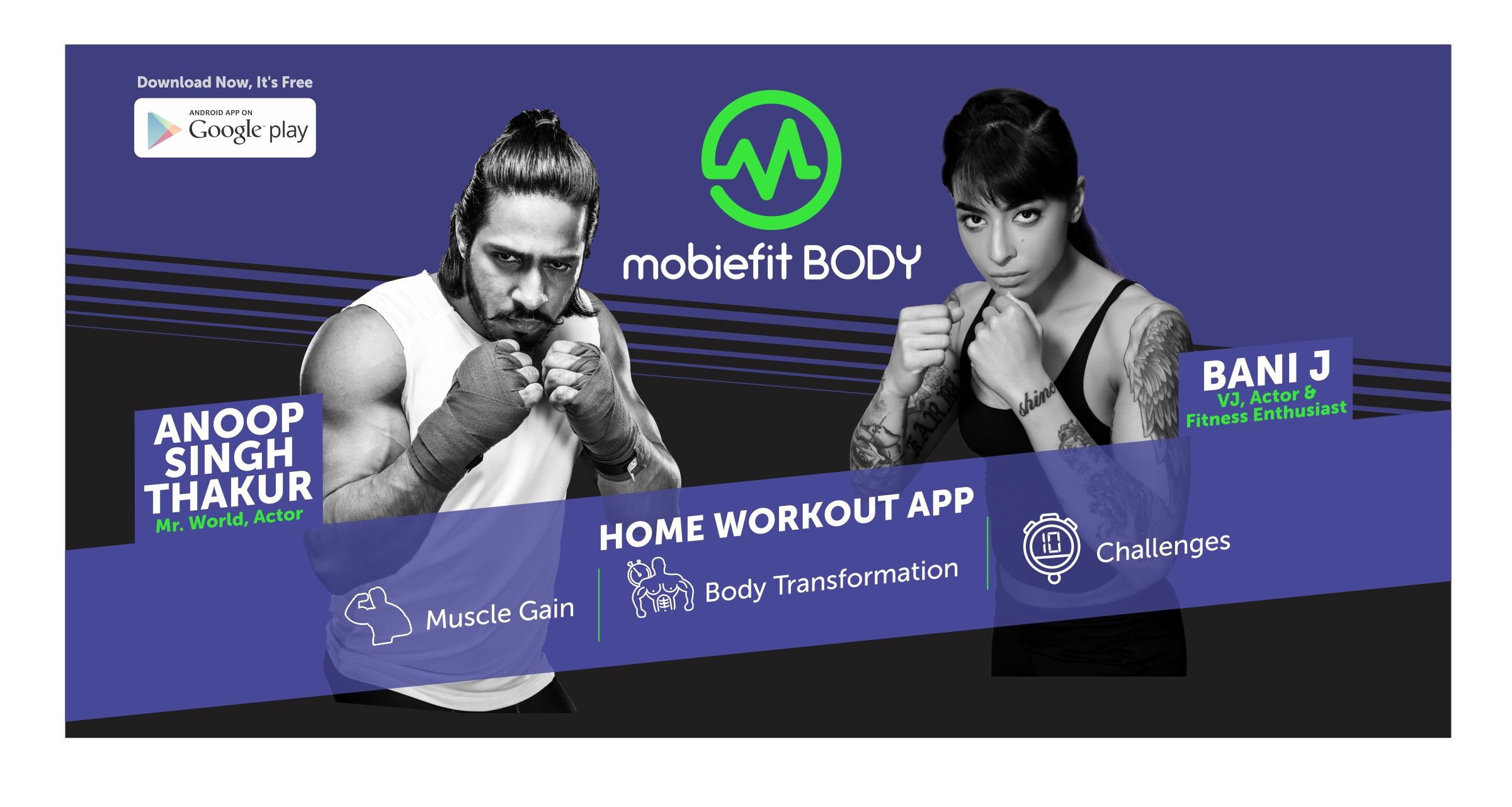 First 500 Users Get a Free One Month Subscription To Mobiefit -