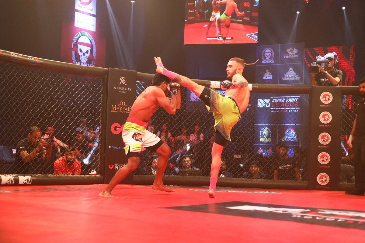 Super Fight League: UP Nawabs register a win at the expense of Delhi Heroes -