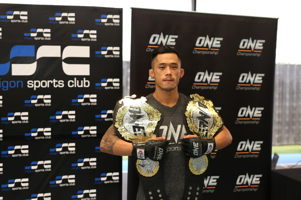 ONE CHAMPIONSHIP HOSTS OPEN WORKOUT WITH ONE FEATHERWEIGHT AND LIGHTWEIGHT WORLD CHAMPION MARTIN NGUYEN - one championship