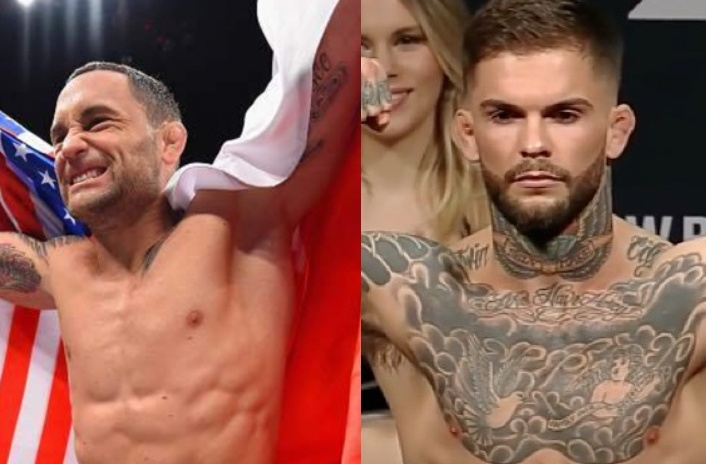 Cody Garbrandt accepted Frankie Edgar's challenge for the main event at UFC 222 -