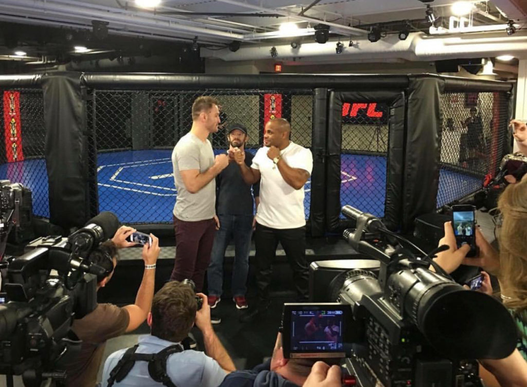Stipe and Daniel first time face off -