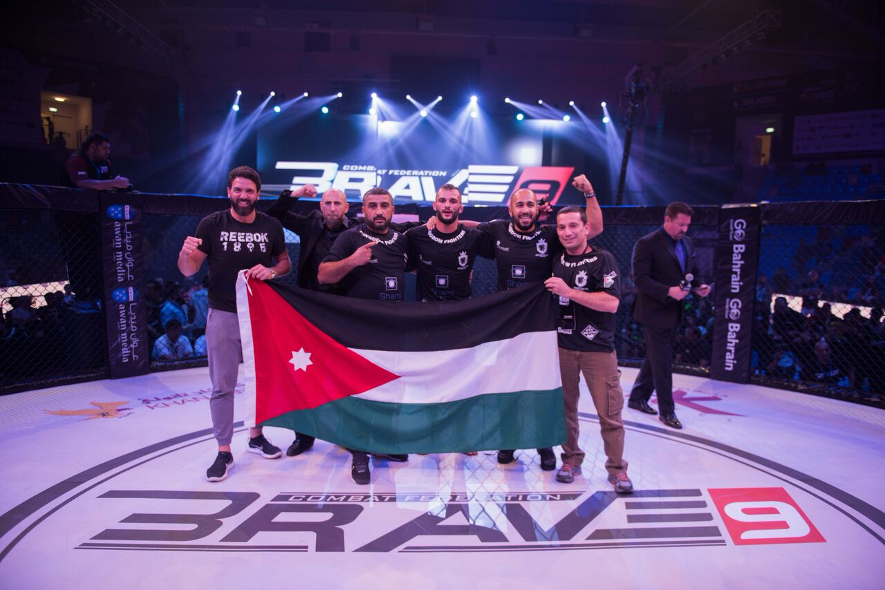 Kingdom Fighters' owner: 'Brave 10 will help MMA growth in Jordan' -
