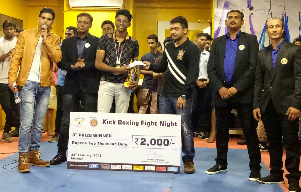 KICKBOXING FIGHT NIGHT MUMBAI, FIGHT CARDS AND RESULTS -