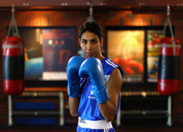 Alexis Pritchard returns to boxing this year