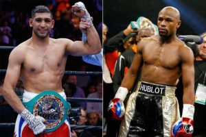 Amir Khan skeptical about Floyd Mayweather MMA tease