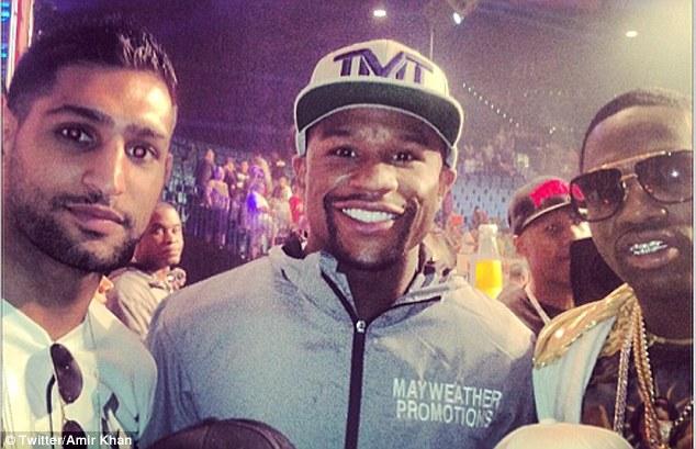 Amir Khan on Floyd Mayweather vs. Conor McGregor MMA tease being a ruse - Floyd Mayweather