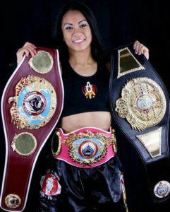 Ana Julaton has won several titles and accolades in boxing