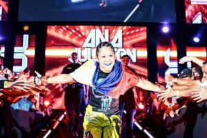 Ana Julaton presently competes in Bellator MMA
