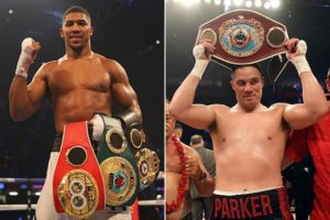 Showtime to air Anthony Joshua vs. Joseph Parker this March