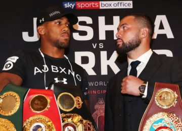 Showtime makes major announcement on Anthony Joshua vs. Joseph Parker matchup