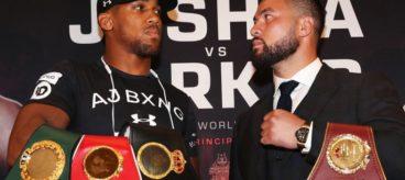 Showtime makes major announcement on Anthony Joshua vs. Joseph Parker matchup