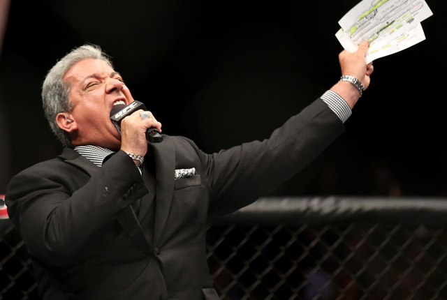 UFC 221 fighters give their thoughts about 'legend' Bruce Buffer - bruce buffer