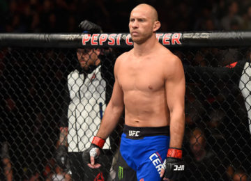 Donald Cerrone still feels the jitters when making the walk to the Octagon