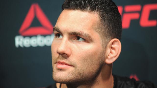 UFC: Chris Weidman still recovering from a thumb injury; unsure about his future - chris weidman