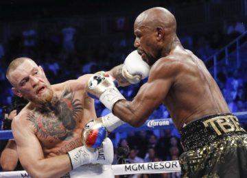 Conor takes a shot at Floyd