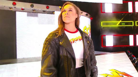 WWE:Ronda Rousey brought to tears with crowd chanting her name, gets support from MMA fighters present - Ronda Rousey
