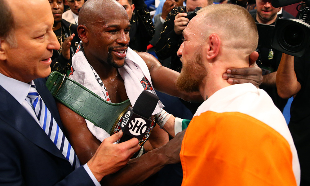 UFC: Floyd Mayweather's camp teases a fight against CM Punk in the UFC - Floyd Mayweather