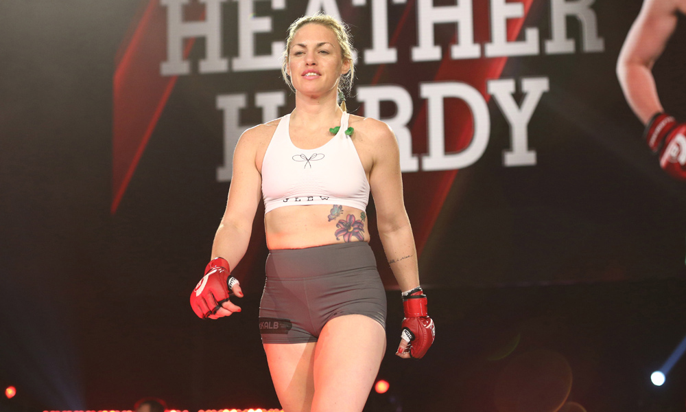Heather Hardy posts emotional message about weigh-in controversy ahead of her Bellator fight -