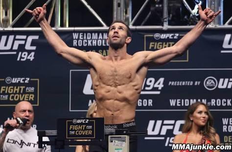 UFC: Luke Rockhold planning move to Light Heavyweight - Luke Rockhold