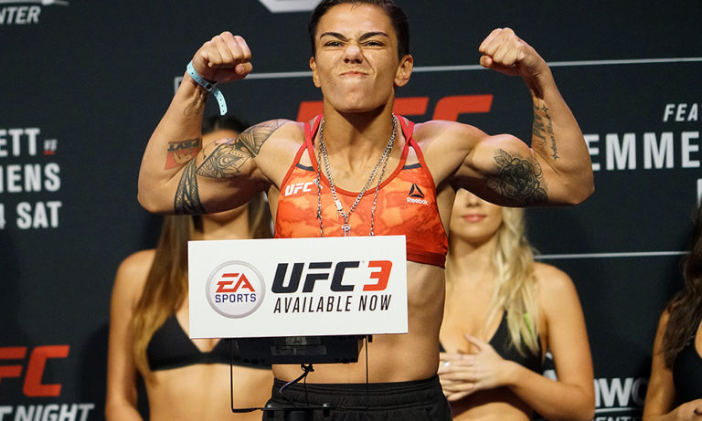 UFC: Jessica Andrade frustrated with Amanda Nunes' support for Tecia Torres; feels Cris Cyborg destroys her in their fight