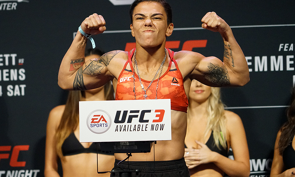 UFC: Jessica Andrade frustrated with Amanda Nunes' support for Tecia Torres; feels Cris Cyborg destroys her in their fight - MMA