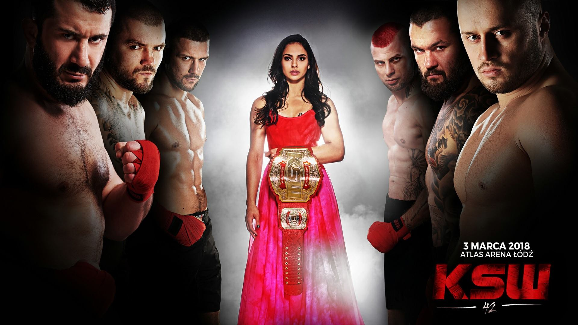 KSW 42 Fight Card -