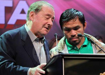 Manny Pacquiao vs. Vasyl Lomachenko a done deal, per Bob Arum