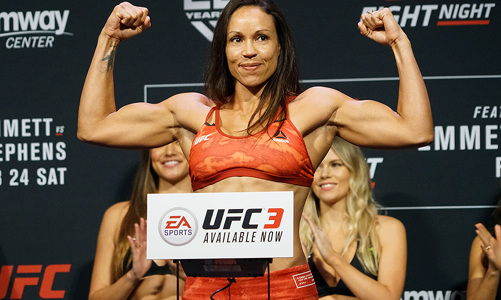 UFC on Fox 28 Results : Marion Reneau defeated Sara McMann via Submission -