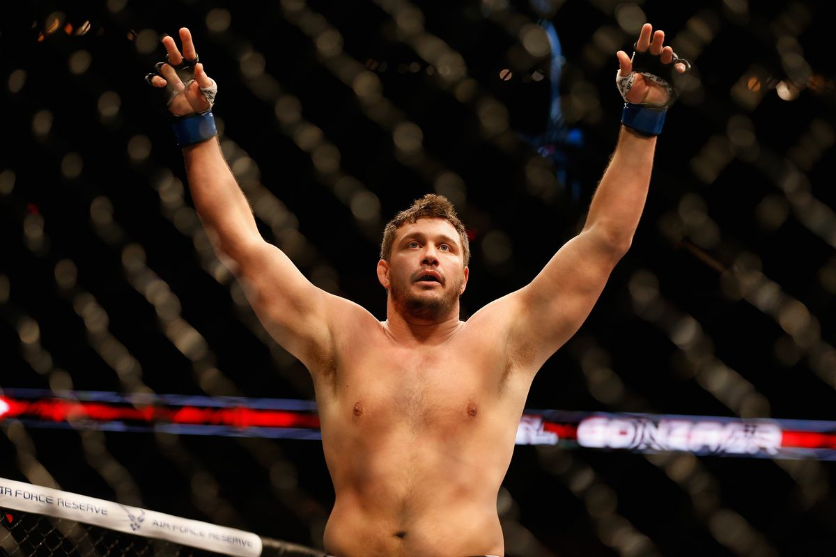 Matt Mitrione gives his thoughts on Stipe Miocic