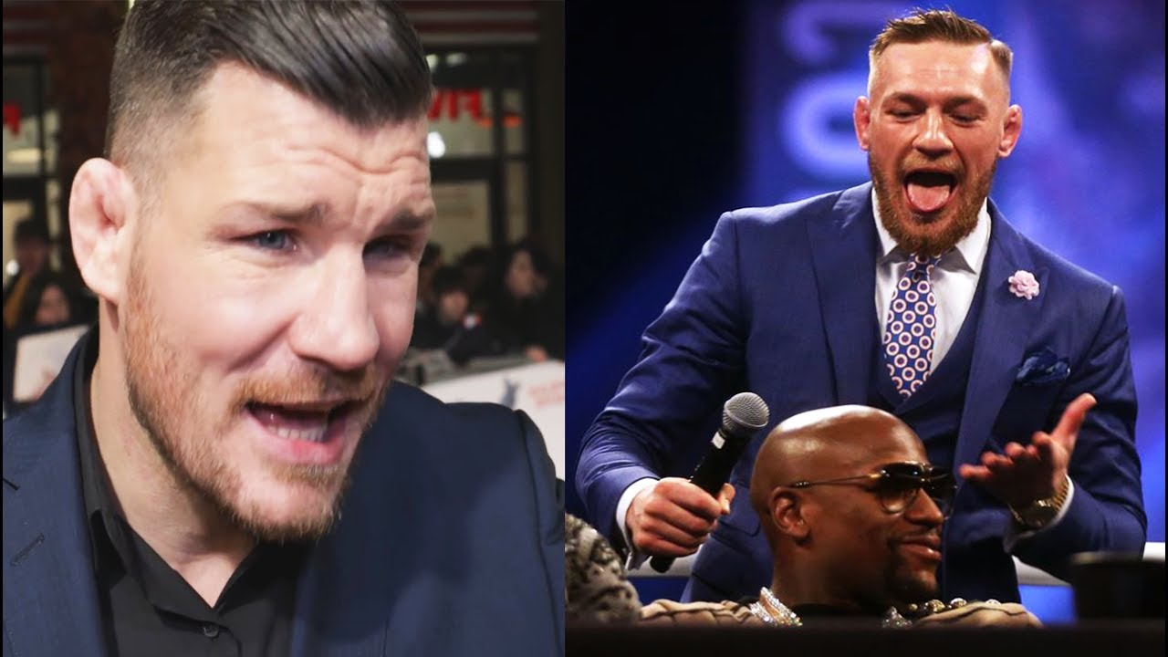 "Michael Bisping thinks Floyd Mayweather would get ""destroyed"" in the octagon against Conor McGregor -"