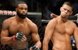 Dana White ridicules the idea of Tyron Woodley facing Nate Diaz -