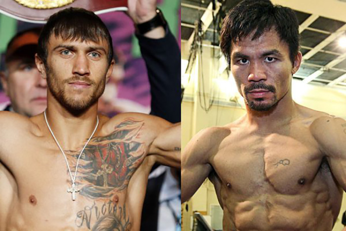 Vasyl Lomachenko vs. Manny Pacquiao almost a done deal per Bob Arum