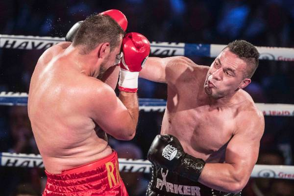 Joseph Parker weighs in on upcoming big fights