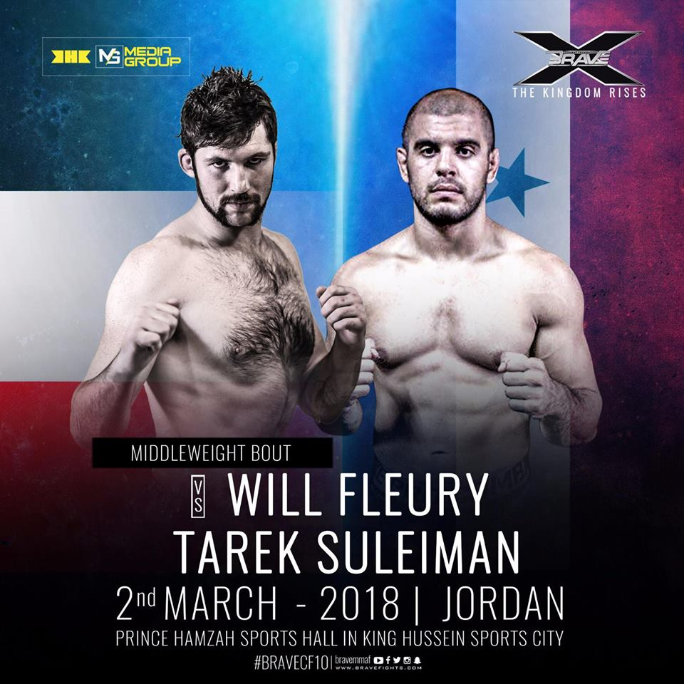 Suleiman talks Jordan connection and promises to 'expose' Fleury at Brave 10 -