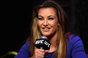 Miesha Tate shares baby bump photo and reveals her unborn child's gender