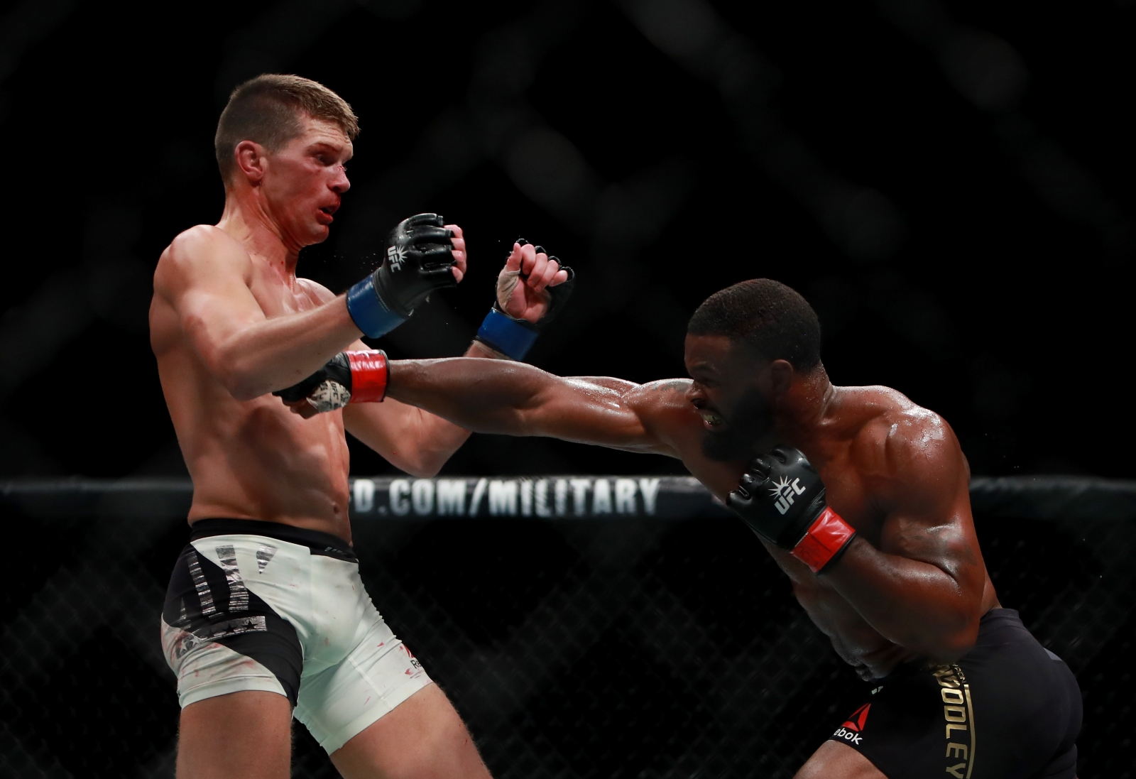 Tyron Woodley feels that Stephen Thompson is the Jon Fitch of current generation -