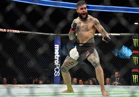 UFC 221 Results - Tyson Pedro Submits Saparbek Safarov in the 1st Round -