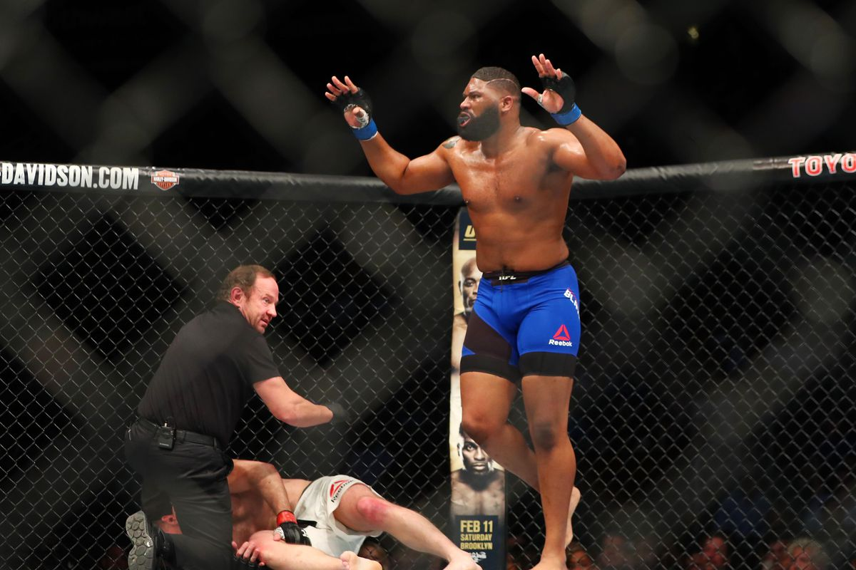 UFC: Curtis Blaydes talks about fighter pay -