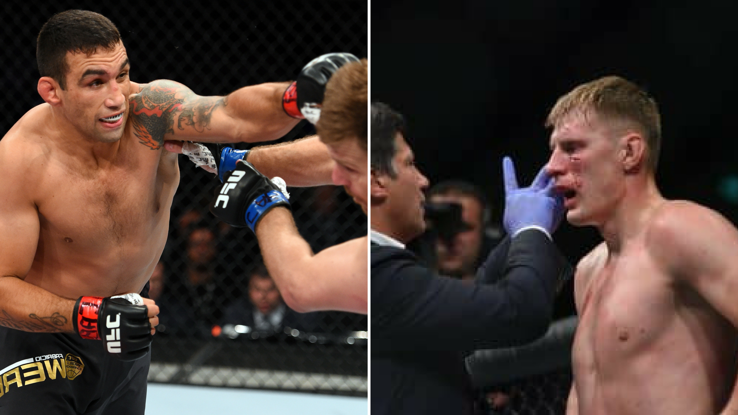 It's Werdum vs Volkov as the main event for UFC London -
