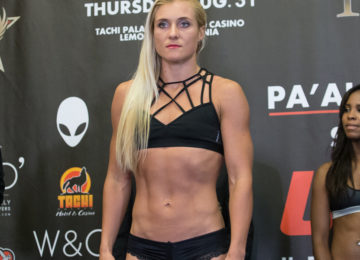 Yana Kunitskaya is primed for the win at UFC 222
