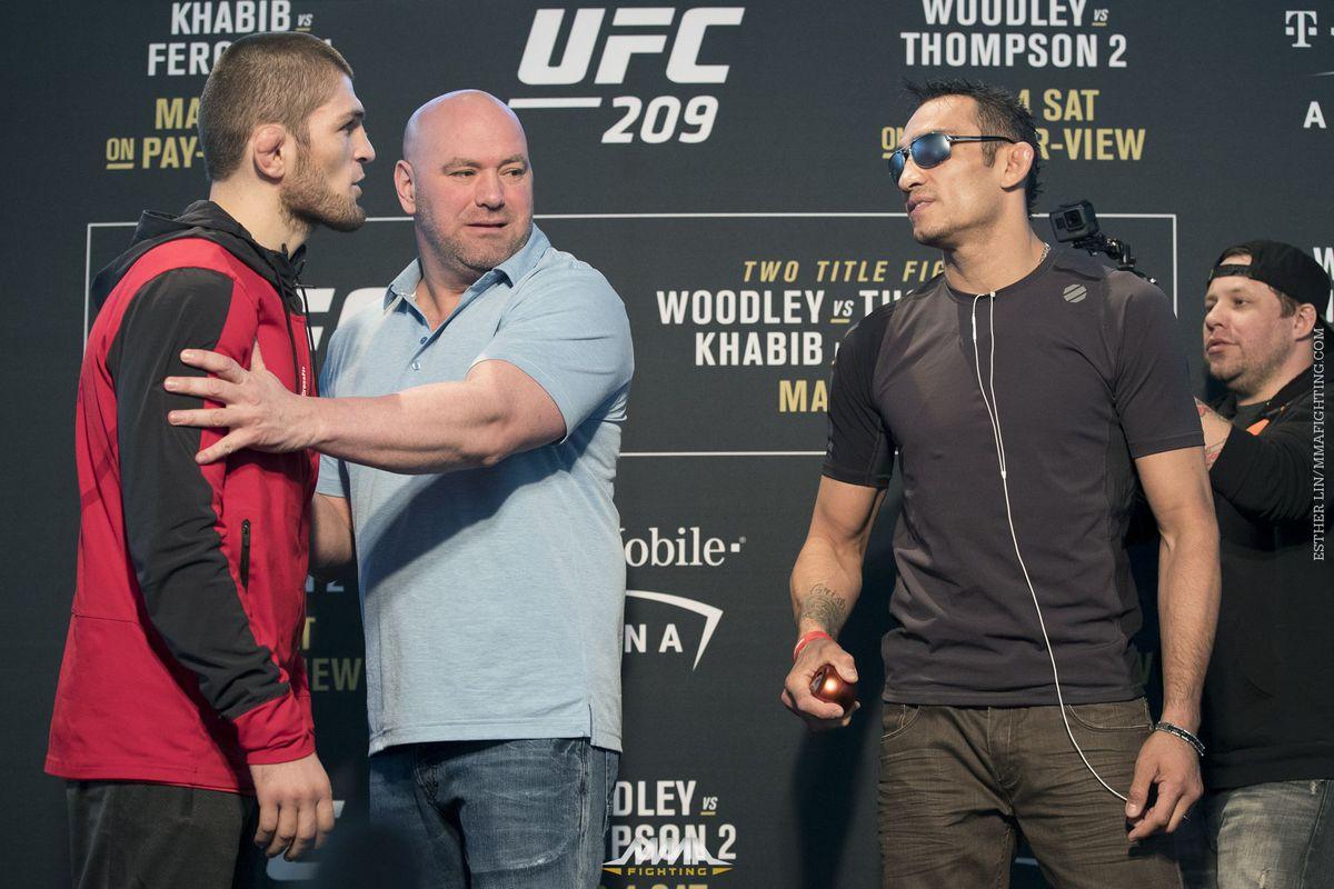 UFC: Khabib Nurmagomedov and Tony Ferguson engage in war of words before UFC 223 - UFC 223