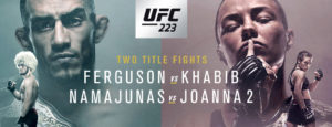 UFC 223 Bout Sequence has been revealed - UFC 223