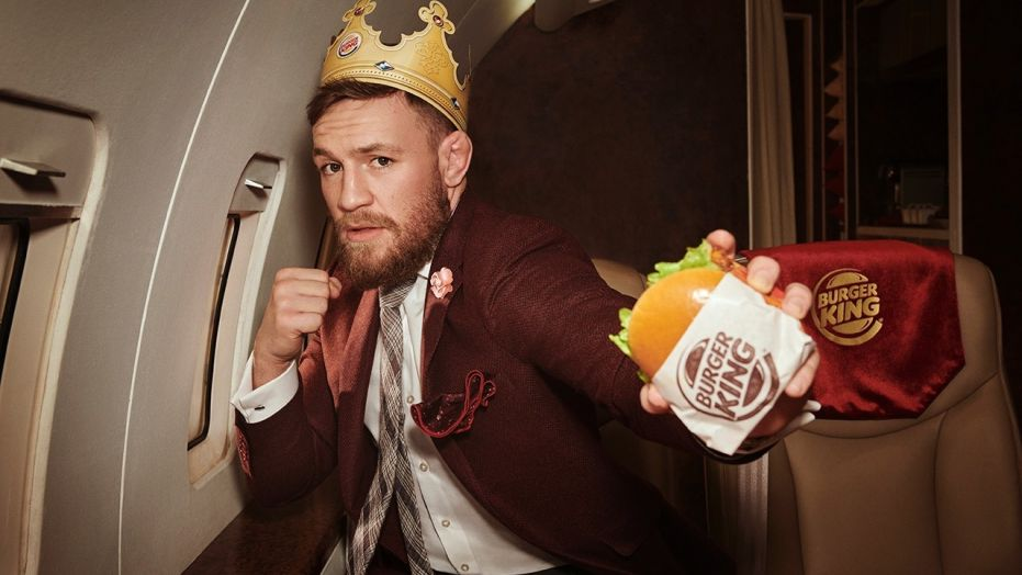 UFC: Conor McGregor features on the new Burger King ad, thanks his rivals - UFC