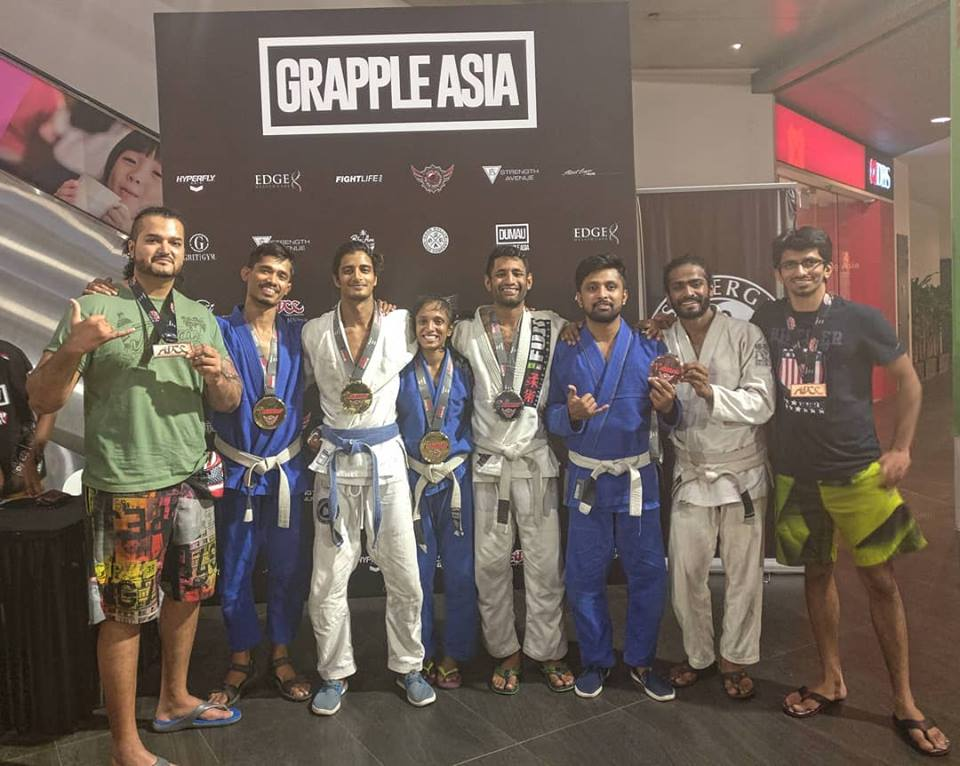 Grapplers from Institute of Jiu-Jitsu Bangalore Shine at the Damau Singapore Open - jiu jitsu