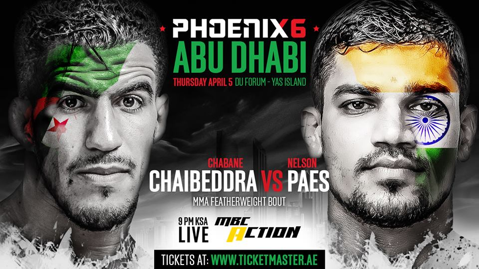 Indian MMA: Nelson Paes to fight at Phoenix 6 in Abu Dhabi - Nelson Paes
