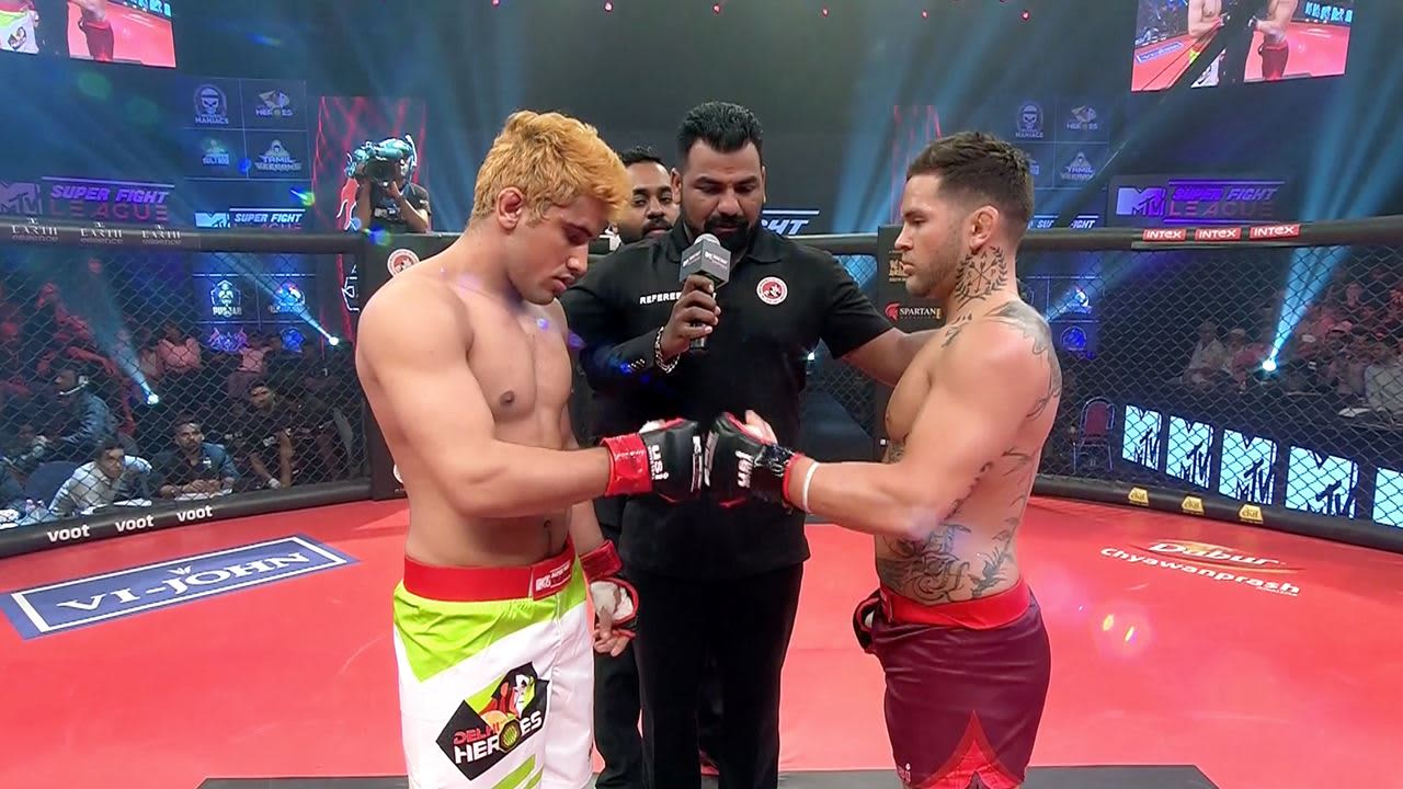 Super Fight League: AIMMAA issues statement on MMA fighter Vince Murdock - super fight league