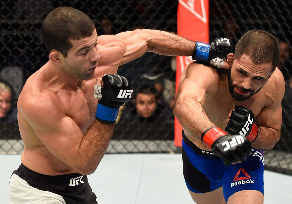 UFC: Augusto Mendes might be fighting for the last time in the octagon at UFC Fight Night 128 - augusto mendes